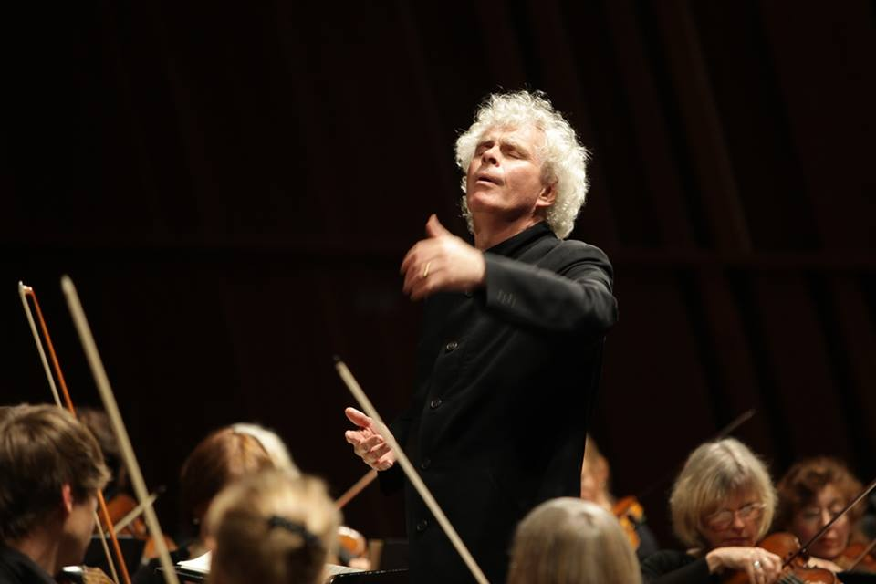 Simon Rattle (photo DR)